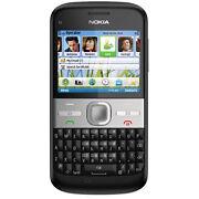Nokia E5  Black  Smartphone