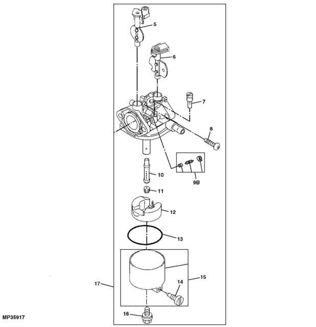 St also Maxresdefault besides S L as well John Deere X Belt Drive Idlers furthermore Briggs Series Linkage. on john deere l100 parts diagram