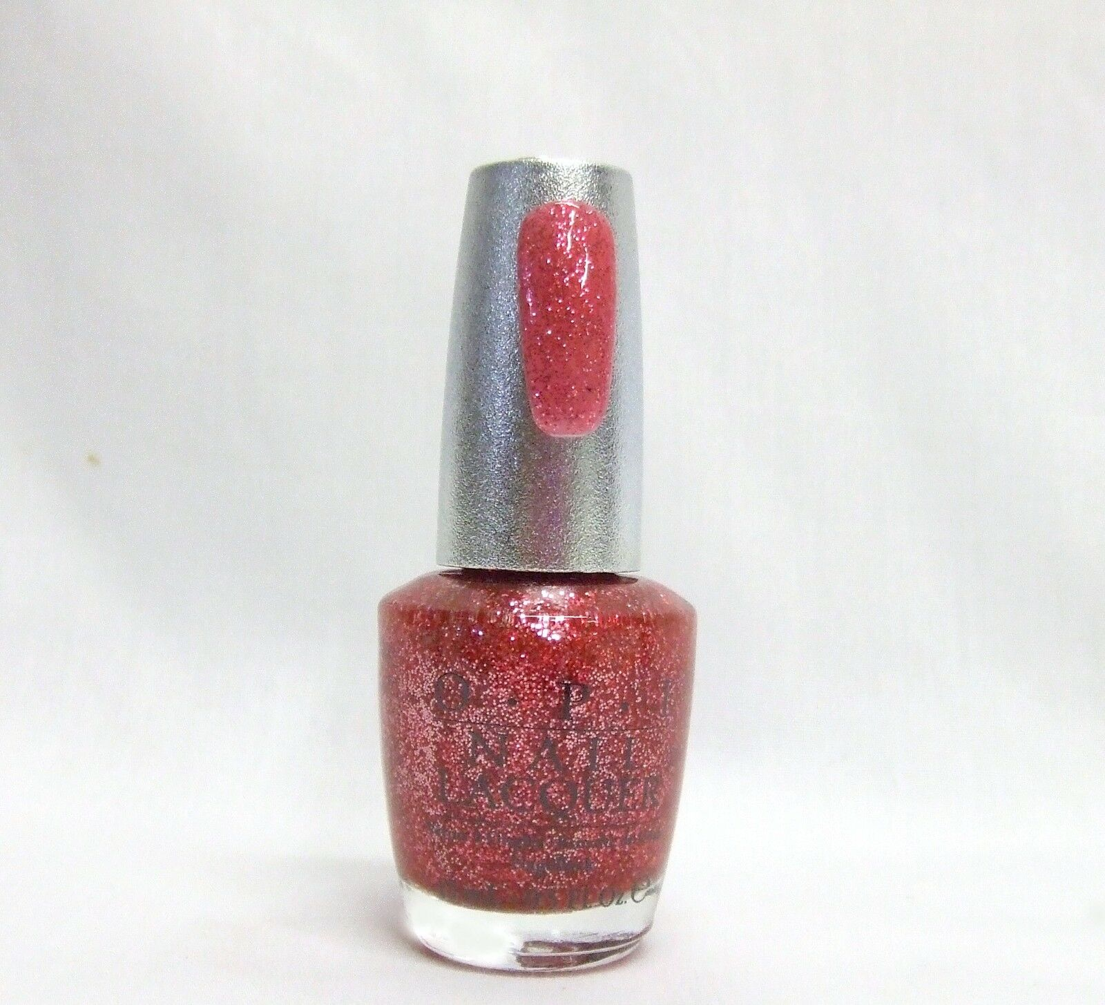 Opi nail polish designer series red glitter bold ds41 ebay picture 1 of 1 prinsesfo Image collections