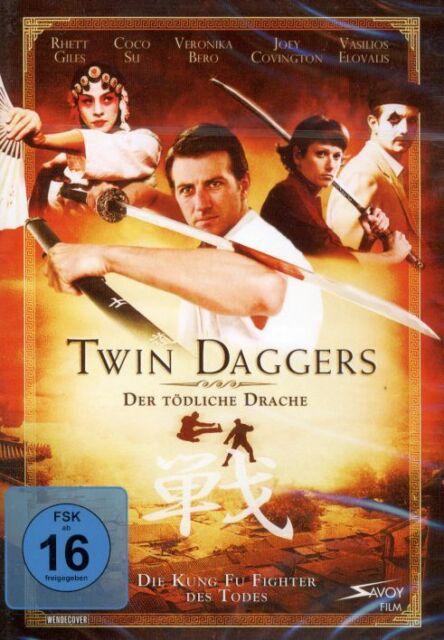 DVD NEU/OVP - Twin Daggers - Der tödliche Drache - Rhett Giles