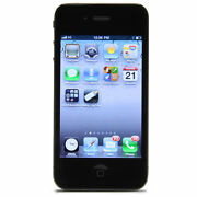 Apple iPhone 4  8 GB  Black  Smartphone