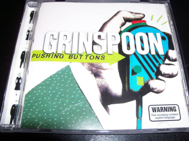 Grinspoon Pushing Buttons Rare Australian 6 Track CD EP Single - Like New