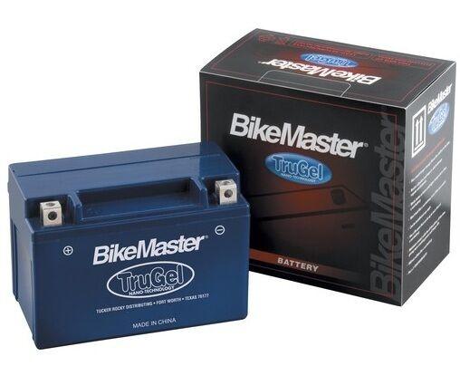 TruGel Gel Battery By BikeMaster 2008 Yamaha YFZ450X MG7B-4