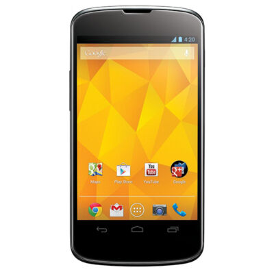 LG Google Nexus 4 E960 - 8 GB - Black - Smartphone
