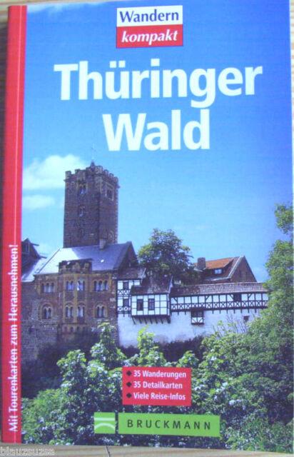 Wandern Thüringer Wald - 35 x Tour mit Detailkarten-NEU