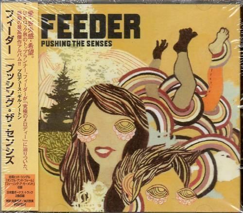 Feeder - Pushing the Senses (2005)  CD Japan Bonus Tracks NEW/SEALED  SPEEDYPOST