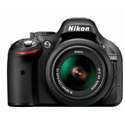 Nikon D5200 24.1 Megapixels Digital Camera  Black...