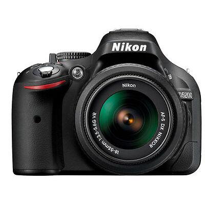 Nikon D5200 24.1 Megapixels Digital Camera - Black (Kit w/ AF-S 18-55mm VR II Lens)