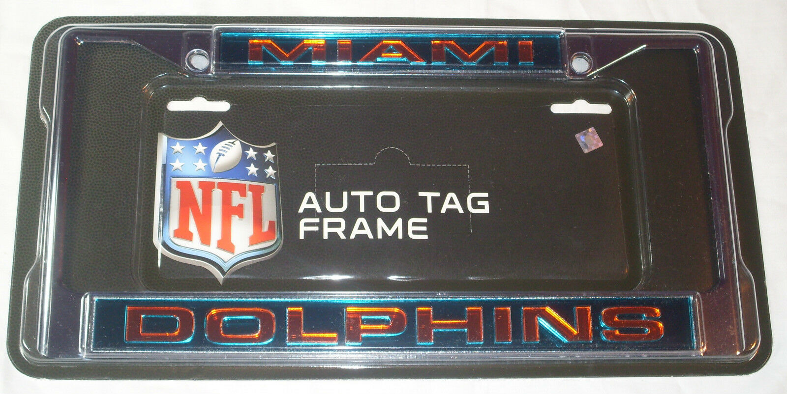 Caseys distributing 9474640251 miami dolphins laser cut chrome brand new lowest price jeuxipadfo Image collections