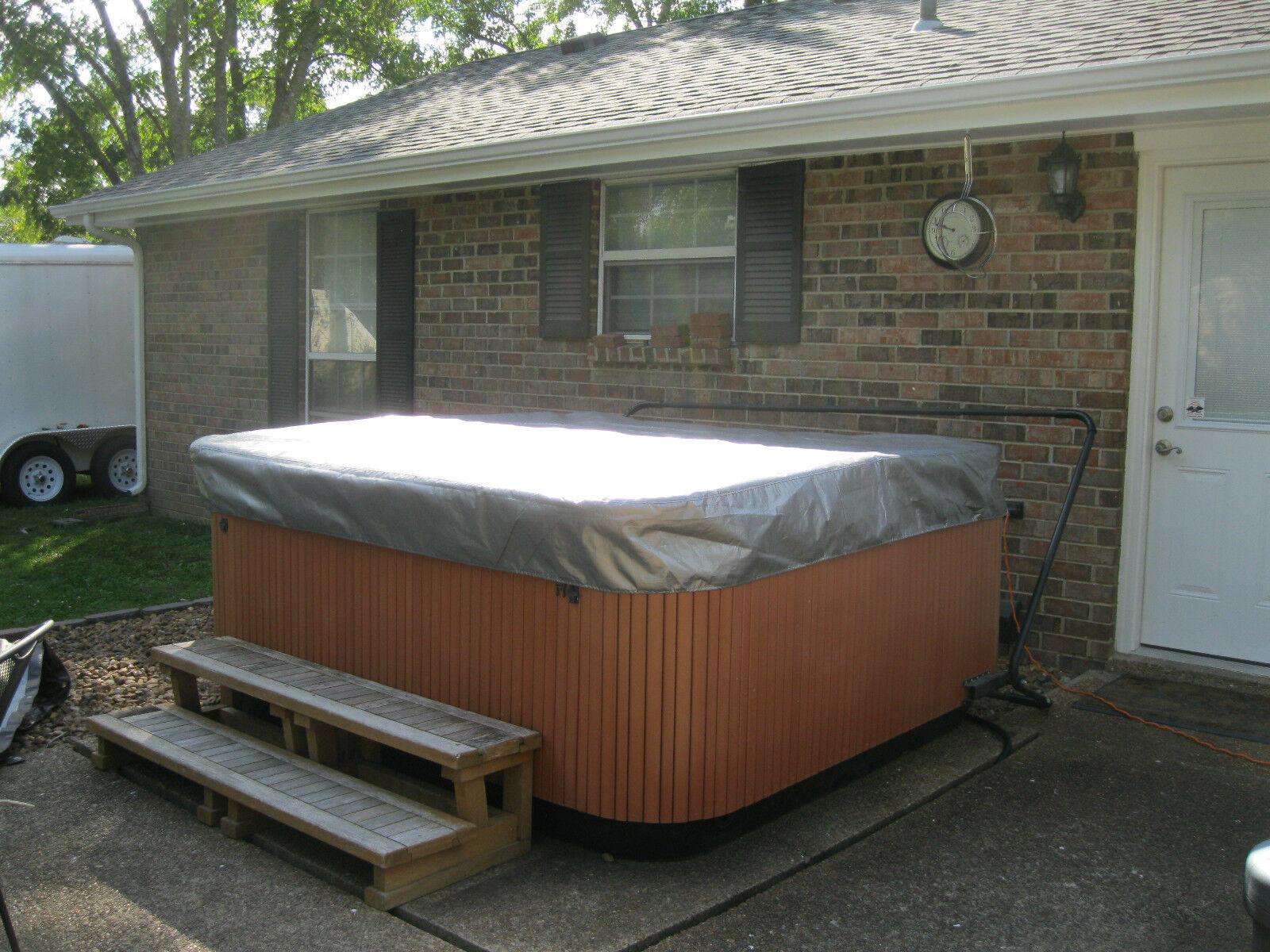 Spa Hot Tub Cover Cap Sunshield® Fits Jacuzzi® Premium 84 X 91 ...