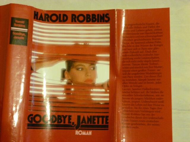 Goodbye Janette von Harold Robbins Roman Buch gebr