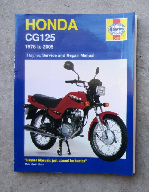 honda cg125 motorcycle owners workshop service repair haynes rh ebay com honda cg 125 owners workshop manual honda cg 125 owners workshop manual