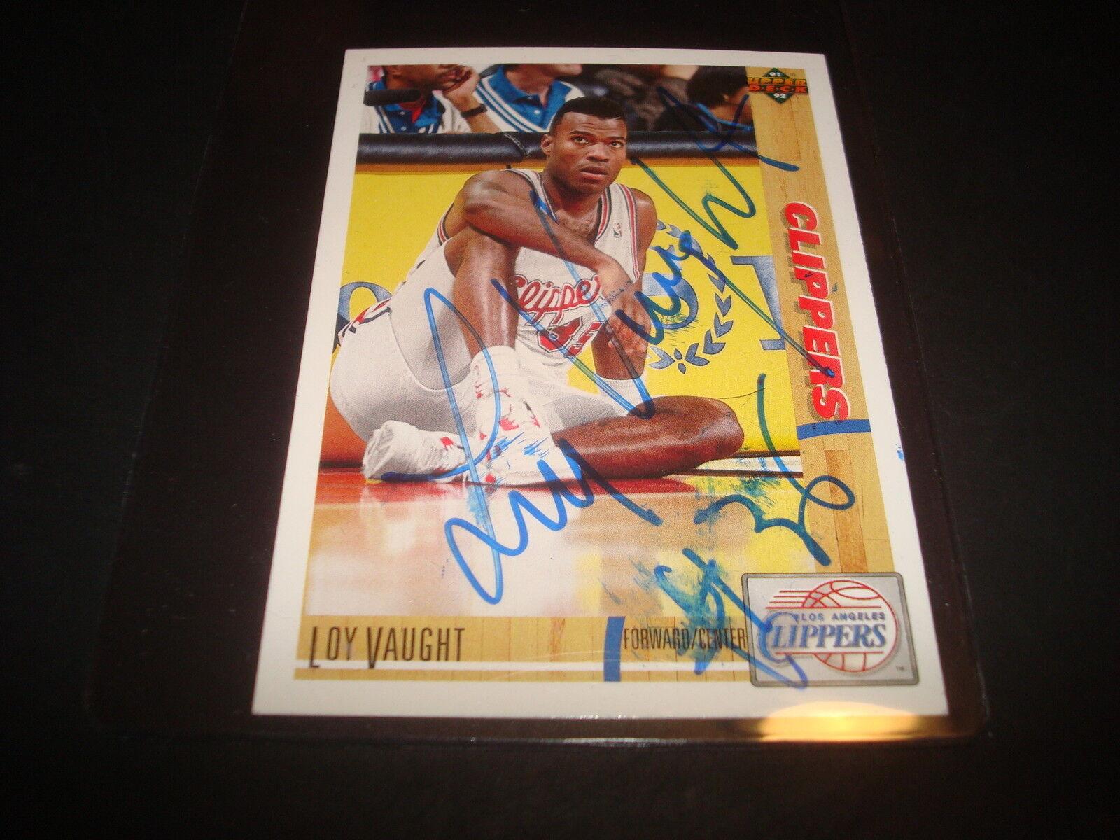 1991 1992 Upper Deck Loy Vaught 138 Basketball Card