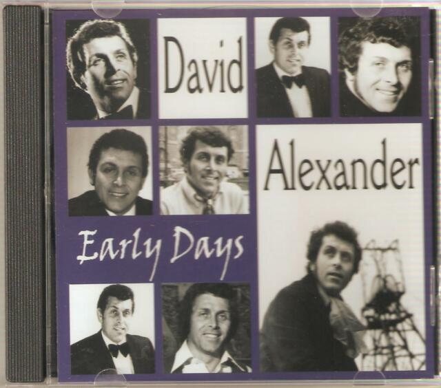 DAVID ALEXANDER EARLY DAYS CD - SHE WEARS MY RING & MORE