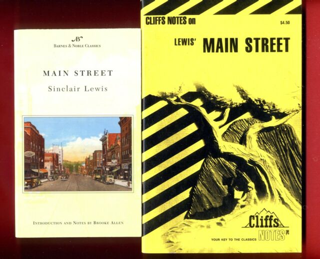 main street sinclair lewis essay Sinclair lewis was the first american to win a nobel prize for literature he is best known for his works main street and babbitt he earned a puli.