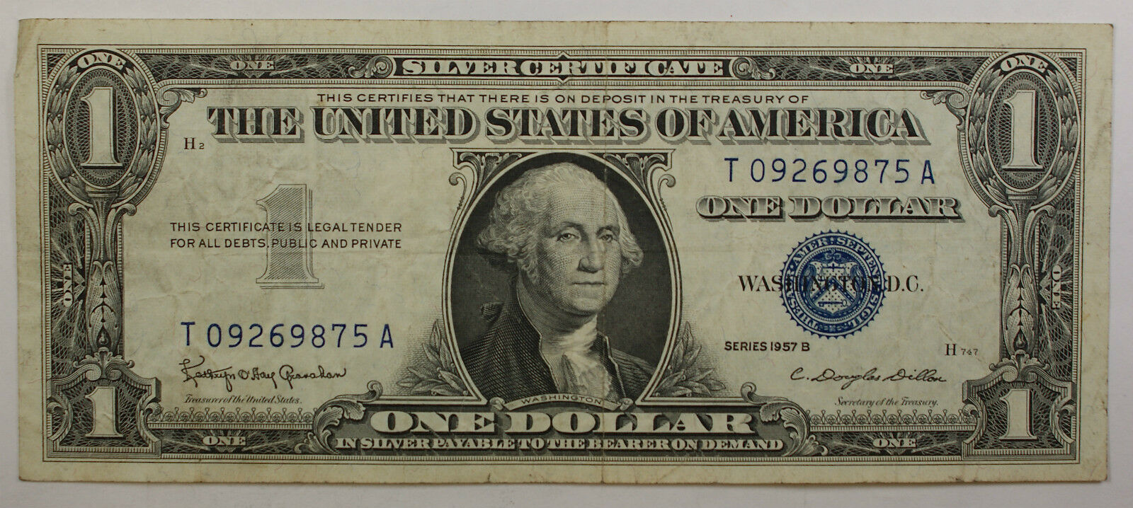 1957 one dollar silver certificate notes vg vf old us ebay picture 1 of 2 xflitez Images