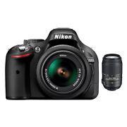 Nikon D5200 24.1 Megapixels Digital Camera  Black...