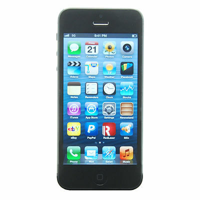 Apple  iPhone 5 - 16 GB - Black & Slate - Smartphone