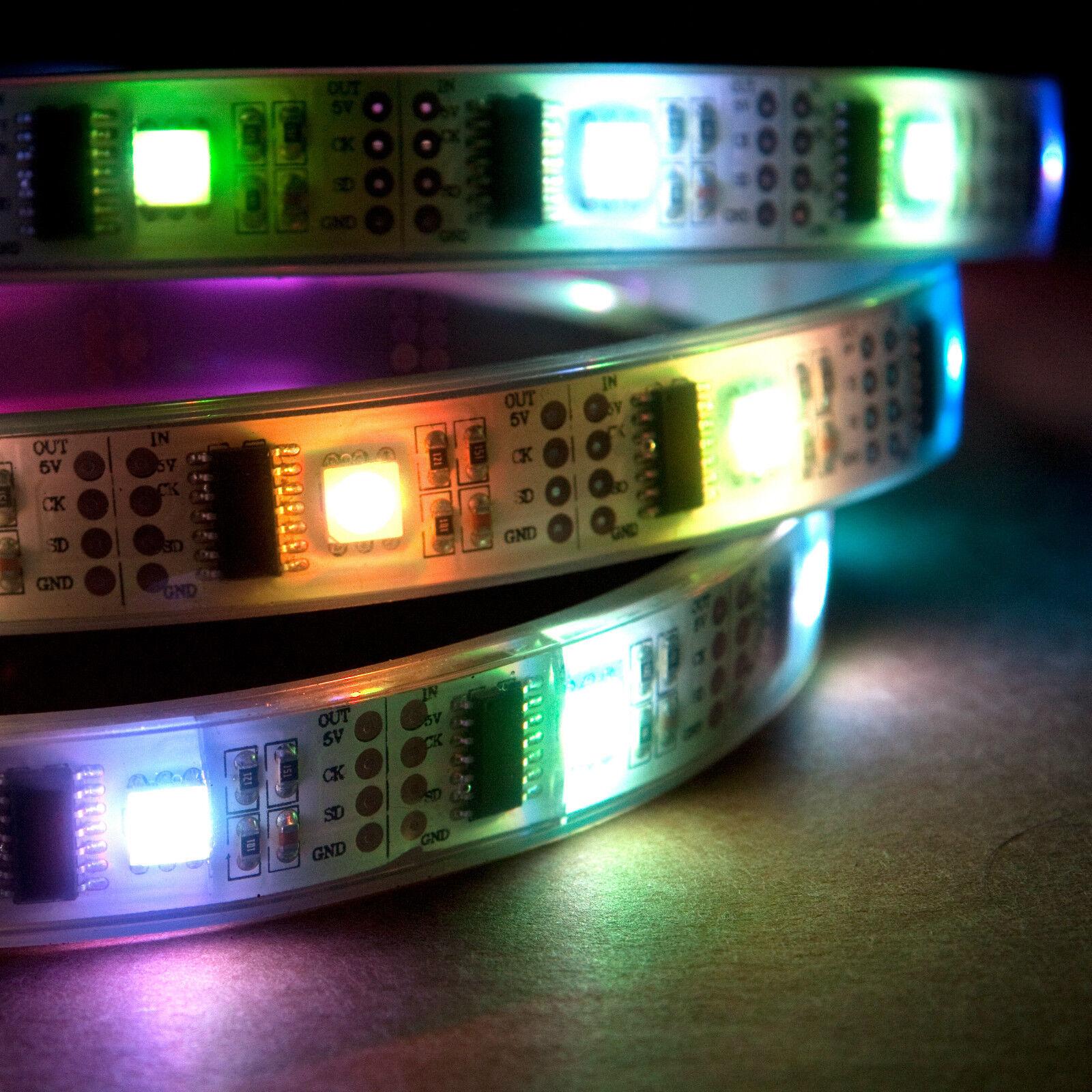 NooElec 5m Addressable RGB LED Strip 5v 32 Led m Waterproof Ws2801