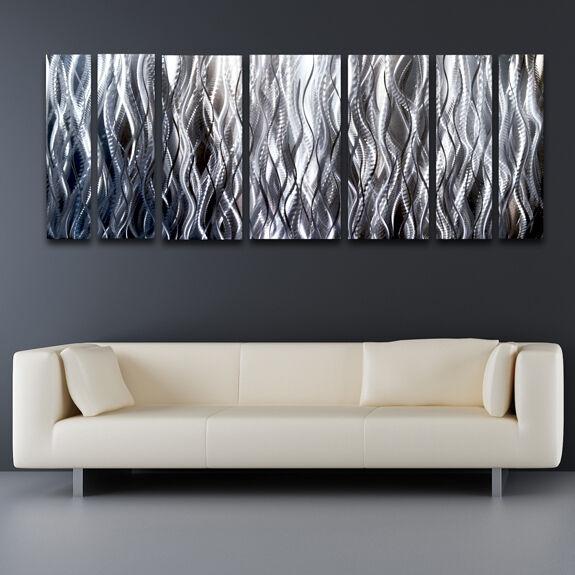 Modern Contemporary Abstract Metal Wall Sculpture Art Work Painting ...