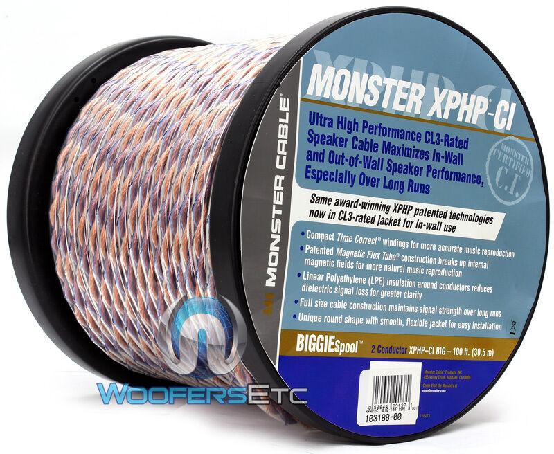Monster 100 Feet Speaker Cable | eBay