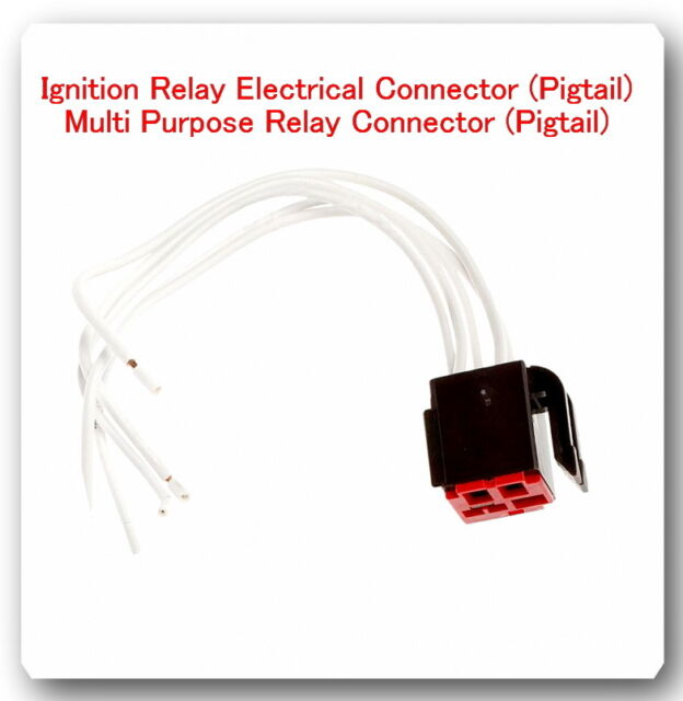 s l640 5 wire harness pigtail connector for multi purpose relay ry46 fits ford wire harness pigtail at eliteediting.co