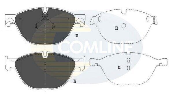 Comline Front Brake Pad Set CBP06017  - BRAND NEW - GENUINE - 5 YEAR WARRANTY