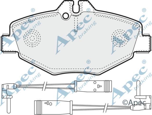 FRONT BRAKE PADS FOR MERCEDES-BENZ E-CLASS T-MODEL GENUINE APEC PAD1316