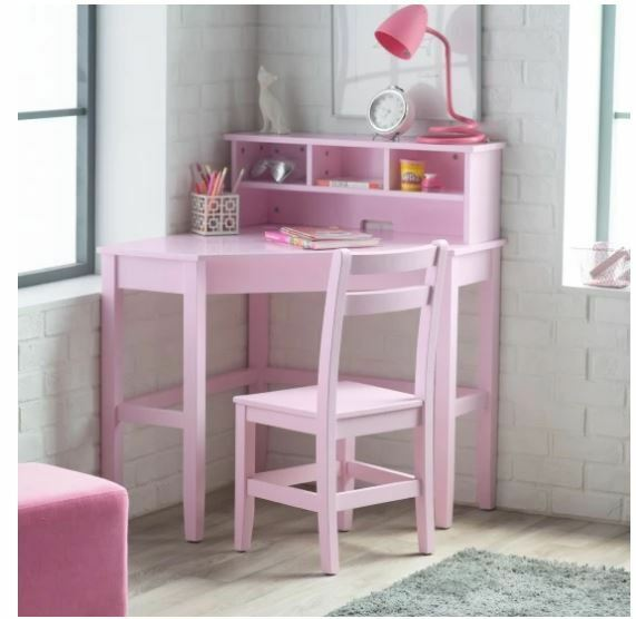 School Desks For Kids Computer Desk And Chair Set Girl