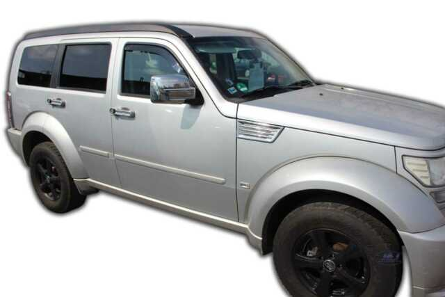 DODGE NITRO 2007-up Front wind deflectors  2pc set Internal fit TINTED HEKO