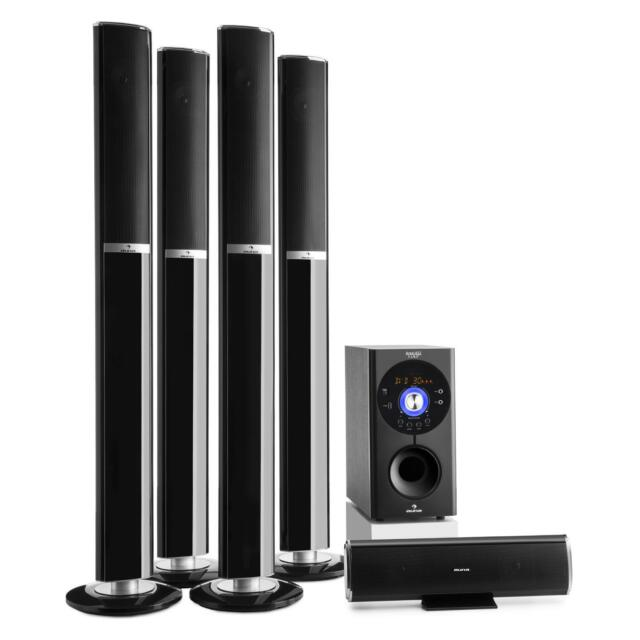 sound system for tv. 5.1 surround sound home cinema speaker system bluetooth wireless audio hi fi for tv o