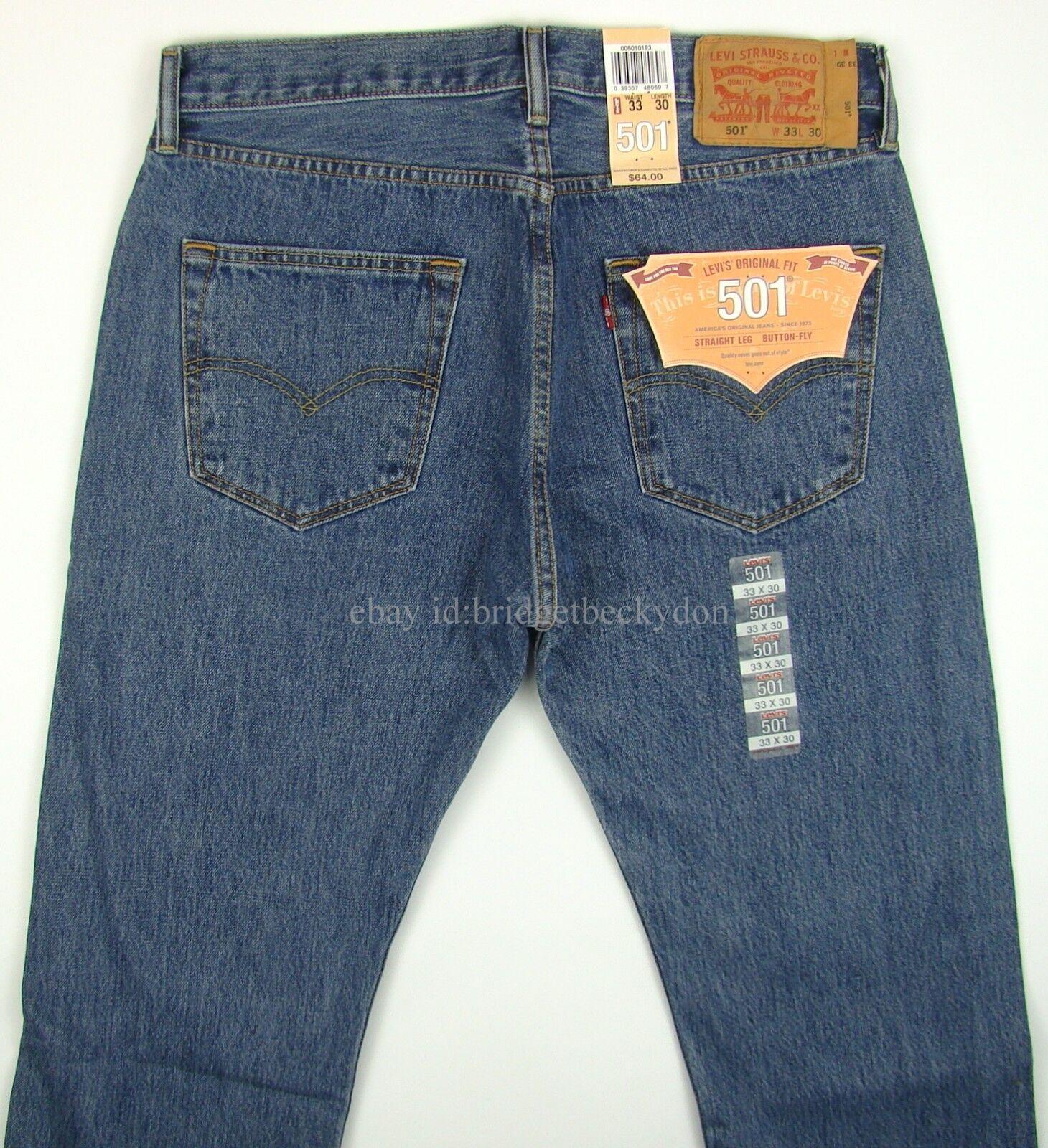 item 4 Levis 501 Jeans New Mens Original Button Fly NWT 29 30 31 32 33 34  36 38 40 42 -Levis 501 Jeans New Mens Original Button Fly NWT 29 30 31 32 33  34 36 ... 0c1792b231