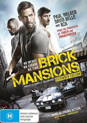 Brick Mansions : NEW DVD