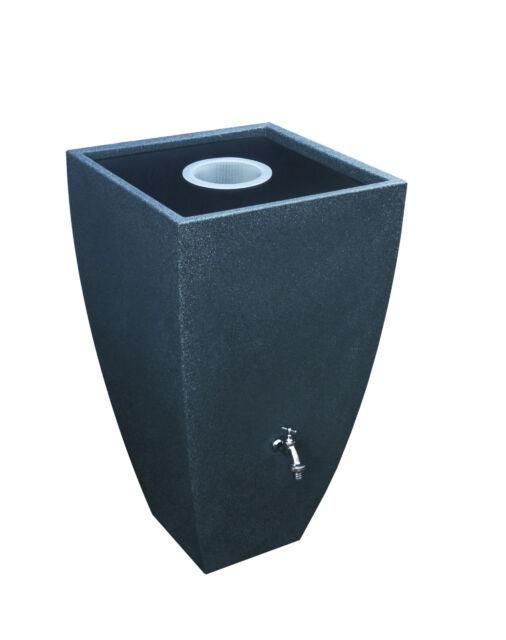 design regentonne modena 200 liter black granit ebay. Black Bedroom Furniture Sets. Home Design Ideas