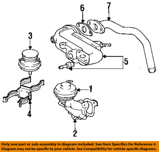 Egr valve lexus user manuals code 71 egroverview gif array 92 93 toyota camry lexus es300 manual transmission oem egr valve rh ebay com fandeluxe Gallery