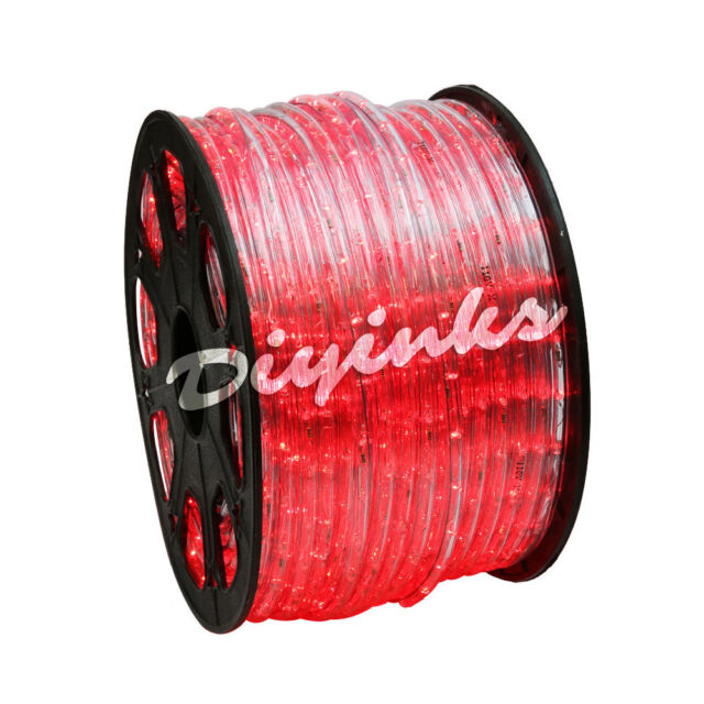 Led rope light 2 wire 110v lighting outdoor xmas christmas custom picture 13 of 13 aloadofball