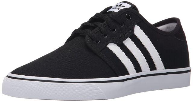Adidas hombre 's Seeley negro / blanco / gum4 skate zapatos hombre US eBay