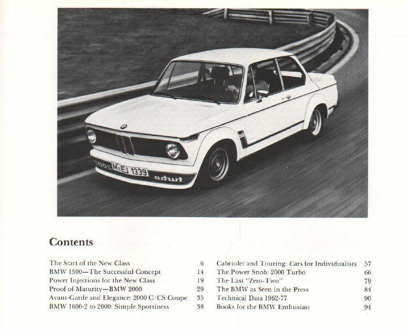 BMW 1500-2002, 1962-1977 : A Documentation by Walter Zeichner and ...