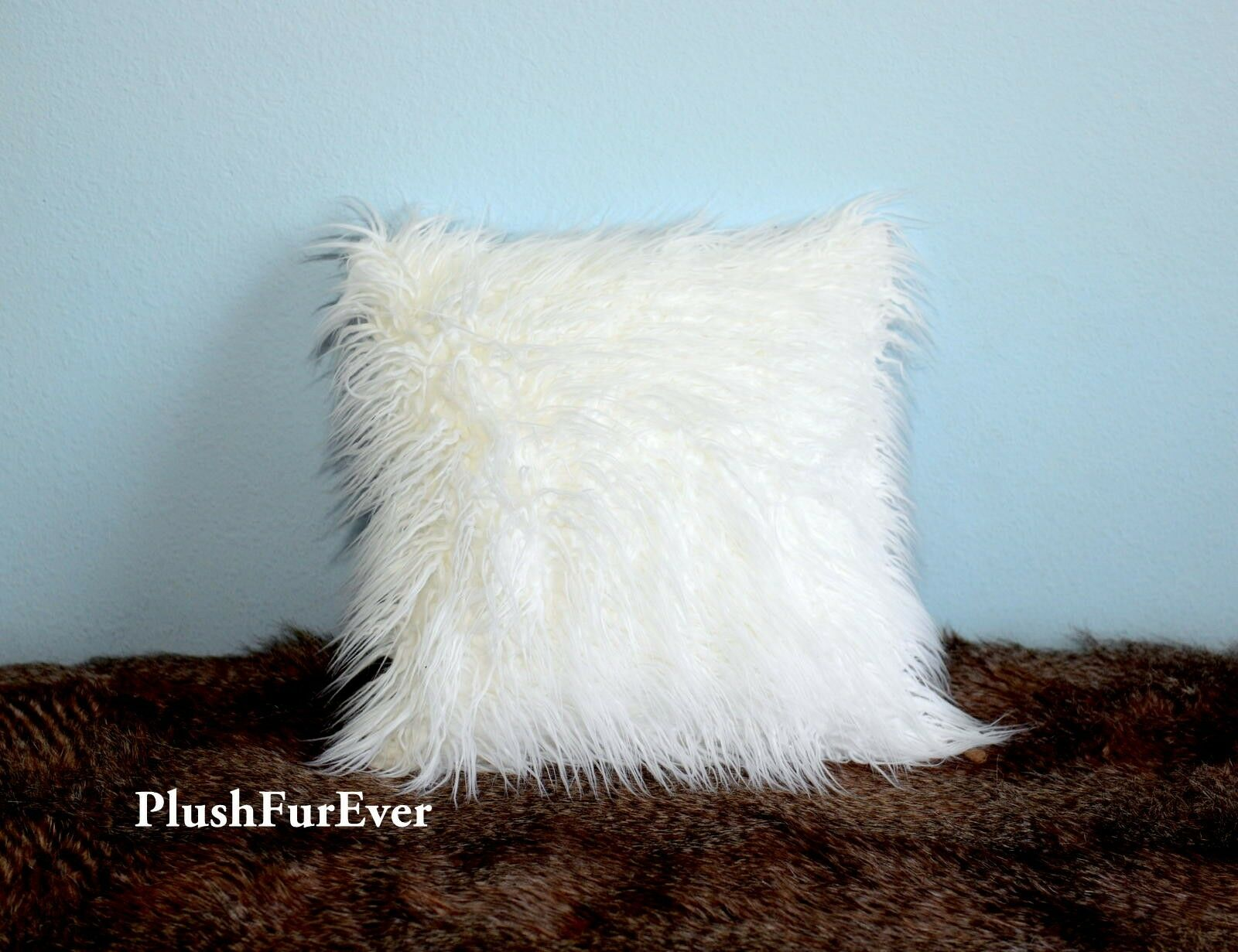 brand new lowest price - Mongolian Faux Fur Pillow