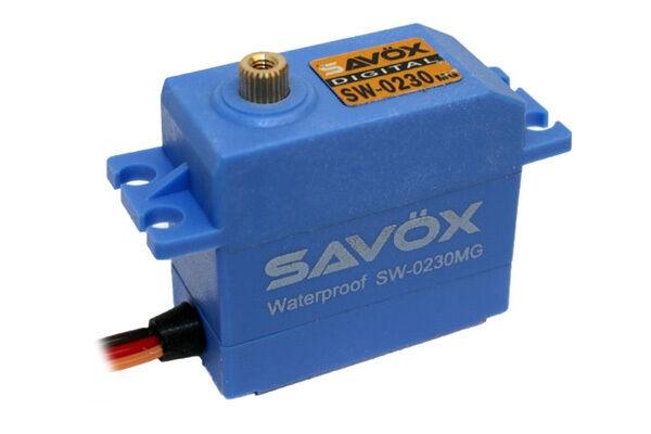 Savox SW-0230MG High Torque Metal Geared High Speed Waterproof Servo (NEW)