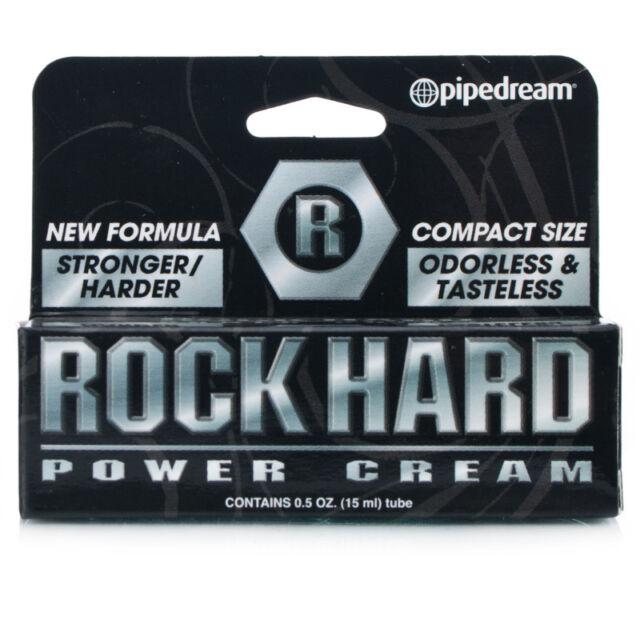 rock hard power penis enhancement delay cream 5 oz stronger