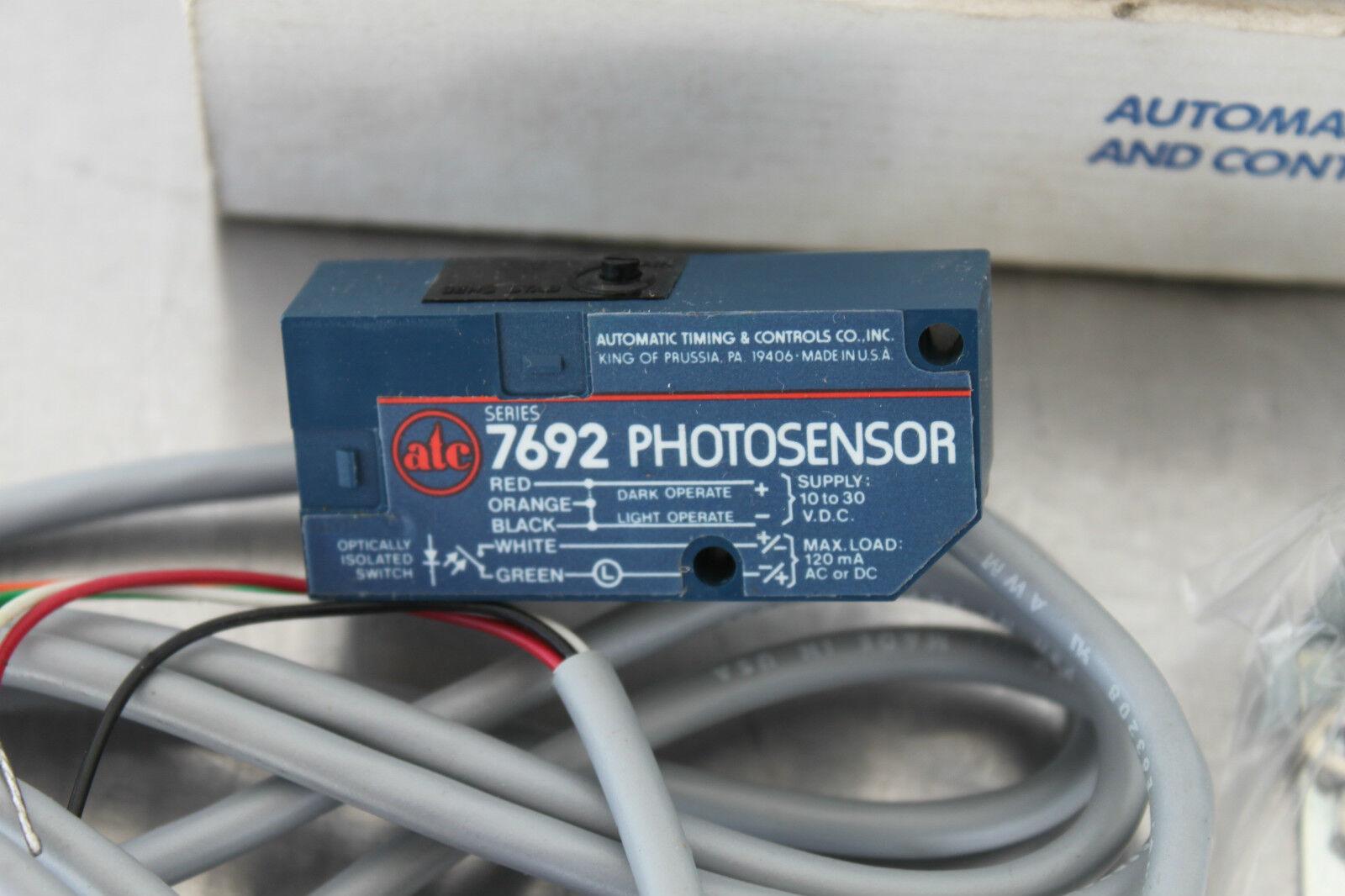 ATC Diffuse Photoelectric Sensor Short Range 7692ADE04DS2X | eBay