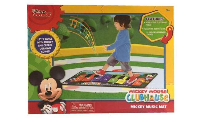 Disney Mickey Mouse Interactive Electronic Floor Piano