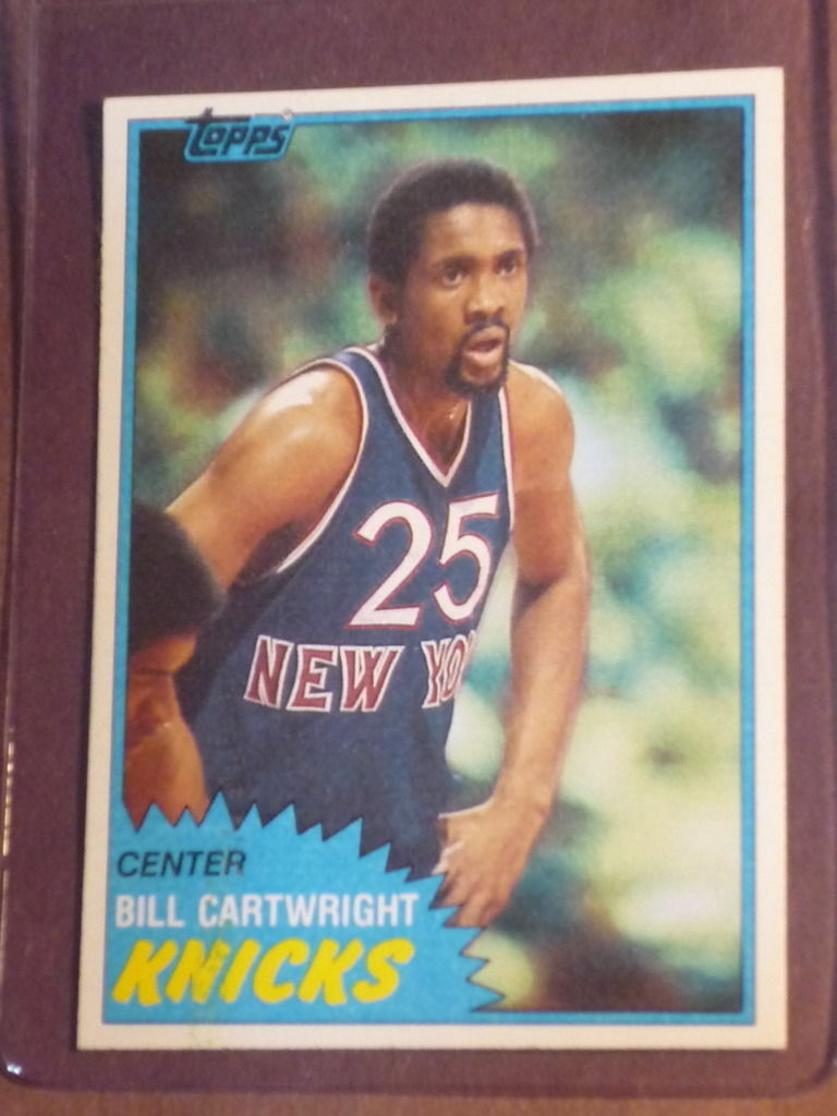 1981 Topps Bill Cartwright 26 Basketball Card