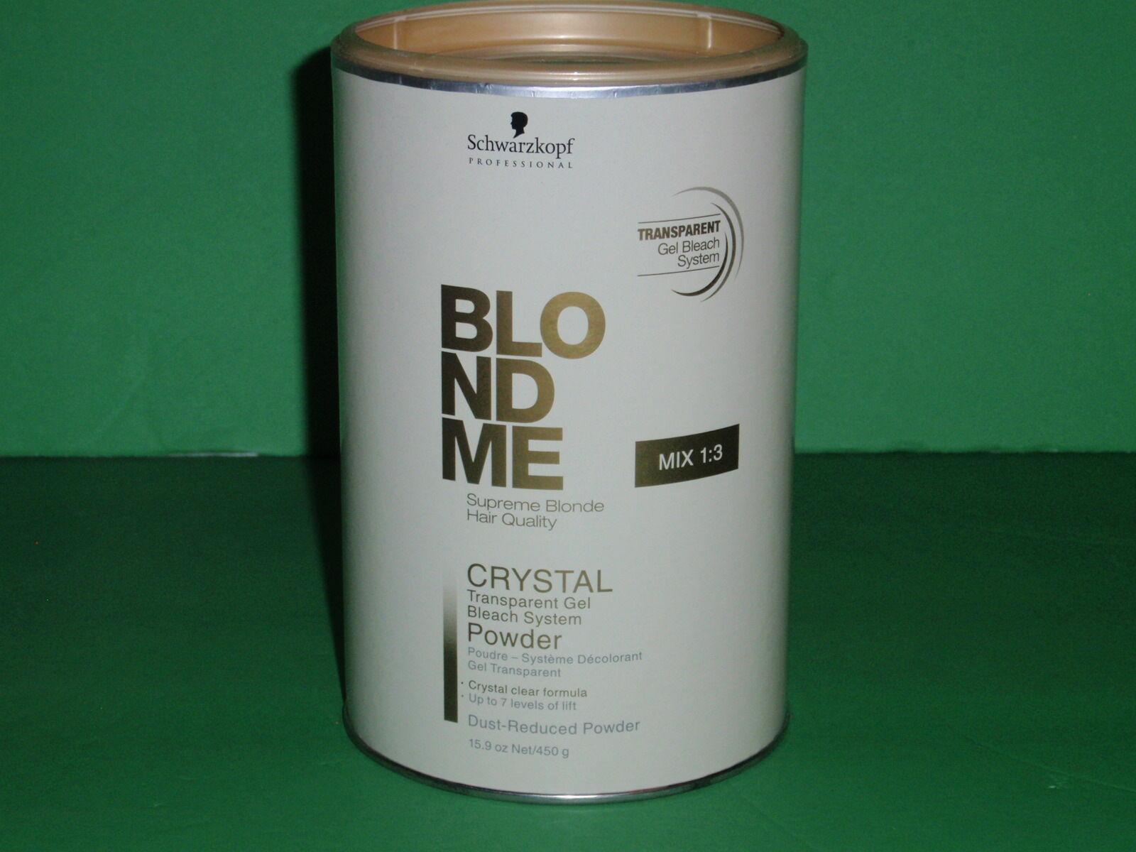 Schwarzkopf Blond Me Crystal Powder 450g   eBay