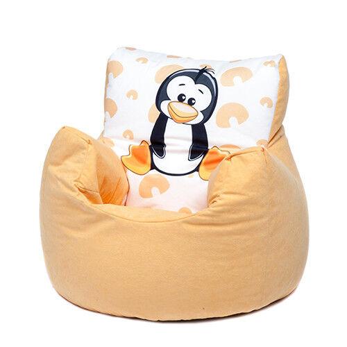 Penguin Childrens Character Filled Beanbag Kids Bean Bag Chair Bedroom