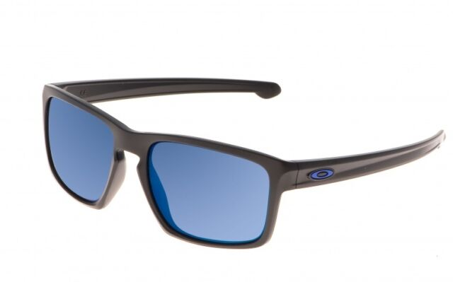 NEW Oakley - Sliver - Sunglasses, Matte Black / Ice Iridium Lens, OO9262-