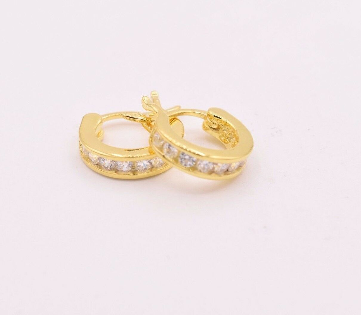 set ball smooth earring silver round over gold high polish stud size earrings
