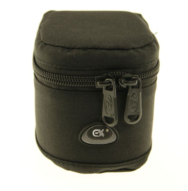 Ex-Pro Black Soft DSLR Camera Lens Bag Pouch Case Shock Protector 6 x 8cm