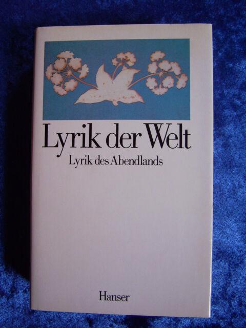 """""""Lyrik der Welt - Lyrik des Abendlands"""" von Georg Britting"""